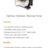 Optimus EPS Hydraulic Steering Pump