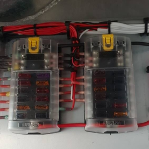 Blue Sea Systems Fuse Block Installed by QME