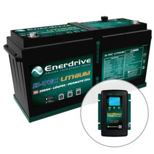 ePOWER 12v 125Ah B-TEC Battery Bundle
