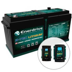 ePOWER 12v 200Ah B-TEC Battery Bundle