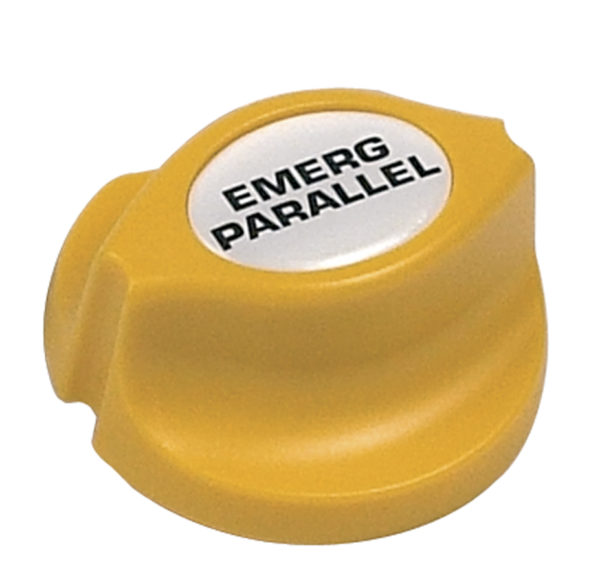 BEP Emergency Parallel Battery Switch Yellow