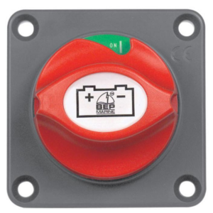 BEP Battery Master Switch - Panel Mount
