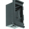 switch end mounting panel