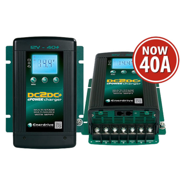 Enerdrive DC2DC+ 40A 12V Battery Charger