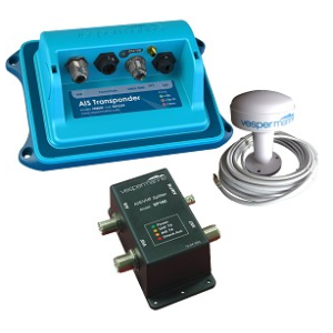 Vesper Marine XB-8000 AIS Transponder with SP160 Splitter Bundle